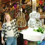 Tom Hall & Ice Sculpture